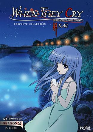 When They Cry Kai Season 2 Complete Collection