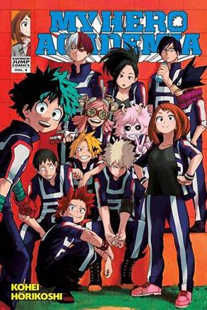 My Hero Academia Vol 4