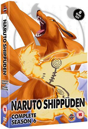 Naruto Shippuden Complete Season 6
