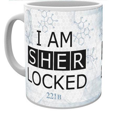 Sherlock Mug Sherlocked