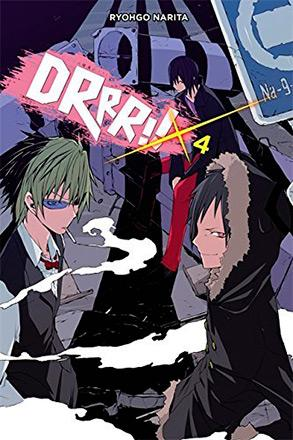 Durarara Light Novel Vol 4