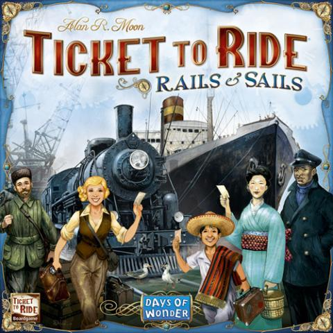 Ticket to Ride - Rails & Sails (Skandinavisk Utgåva)