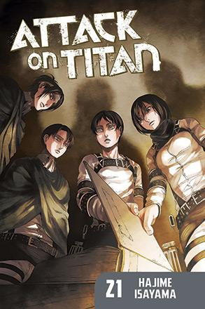 Attack on Titan vol 21