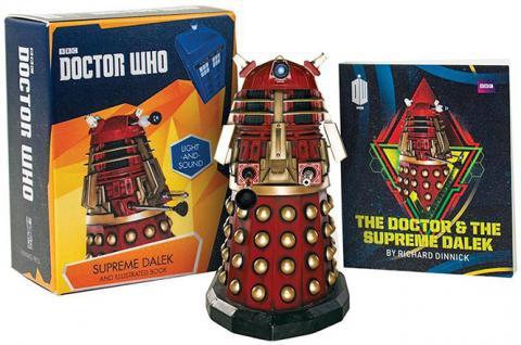 Doctor Who Supreme Dalek Figurine & Book Kit
