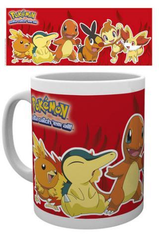 Pokemon Fire Partners Mug