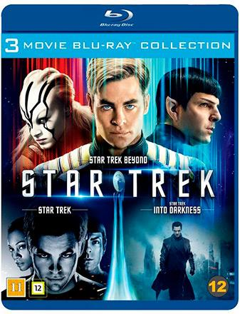 Star Trek, Star Trek Into Darkness & Star Trek Beyond
