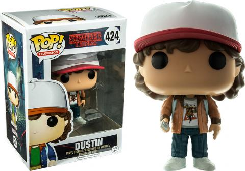 Stranger Things Dustin Pop! Vinyl Figure