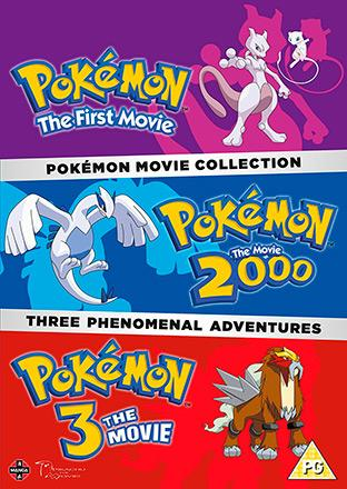 Pokémon Movie 1-3 Collection