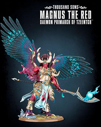 Magnus the Red, Daemon Primarch of Tzeentch