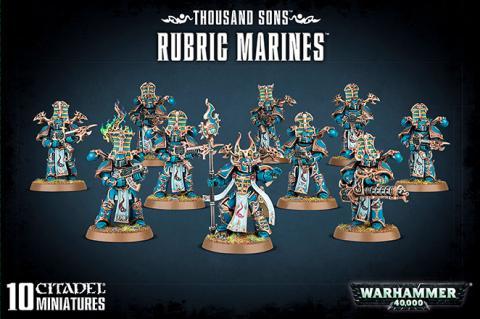 Thousand Sons Rubric Marines