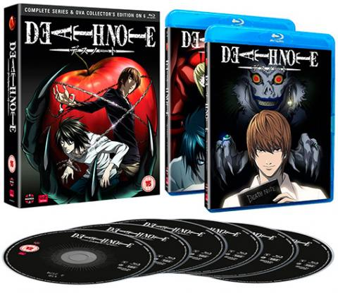 Death Note Complete Series and OVA Collection