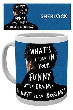 Sherlock Mug What's It Like