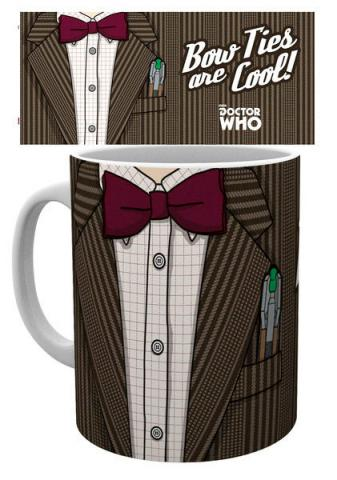 Doctor Who Mug 11th Doctor Costume Bow Ties are Cool