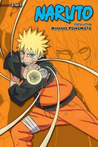 Naruto 3-in-1 Vol 18