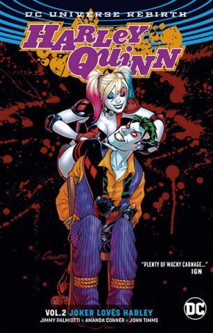 Harley Quinn Rebirth Vol 2: Joker Loves Harley