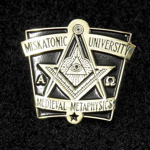 Varsity pin: Medieval Metaphysics