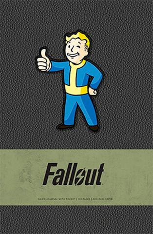 Fallout Ruled Journal