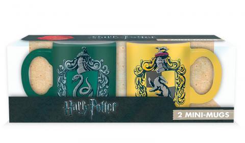 Harry Potter Mini-mug Set: Slytherin & Hufflepuff