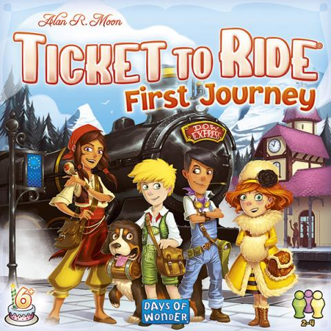 Ticket to Ride - First Journey (Skandinavisk utgåva)