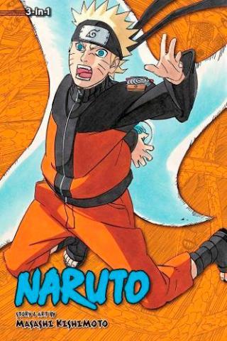 Naruto 3-in-1 Vol 19