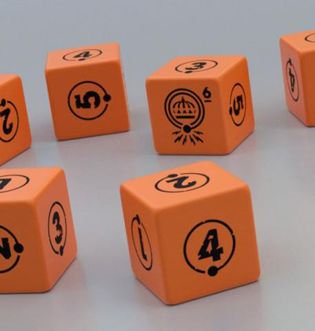 Dice Set (10 st) Tales from the Loop