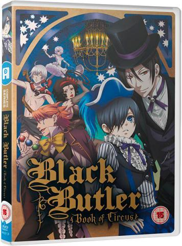 Black Butler, Complete Series 3, Book of Circus