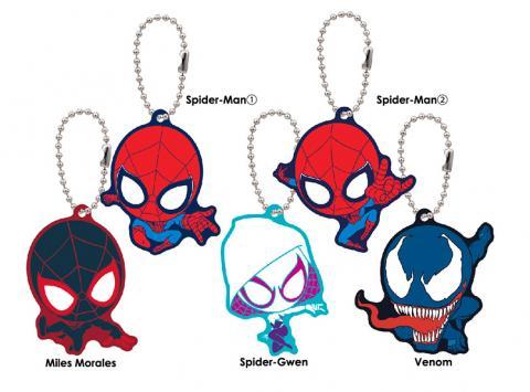 Spider-Man Homecoming Chara Rubber Mascot