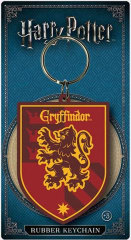 Harry Potter Rubber Keychain Gryffindor 6 cm