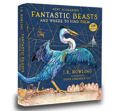 Fantastic Beasts and Where to Find Them Illustrated Edition