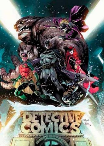 Batman Detective Comics Rebirth Deluxe Collection Book 1