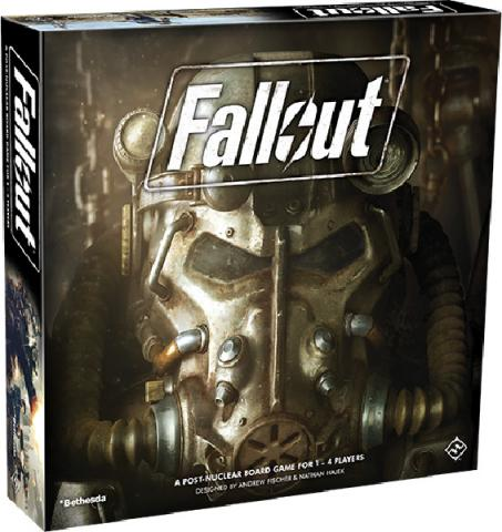 Fallout: A Post-Nuclear Board Game
