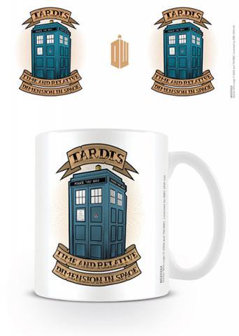 Doctor Who Tardis Tattoo Mug