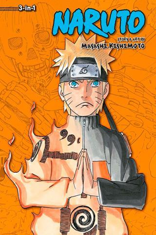 Naruto 3-in-1 Vol 20