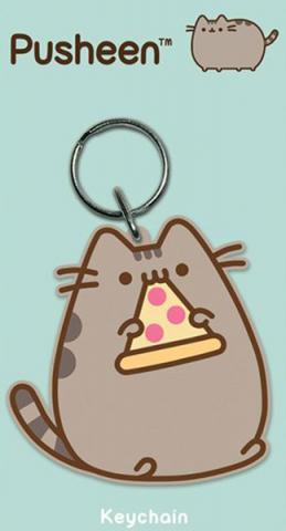 Pusheen Rubber Keychain Pizza 6 cm