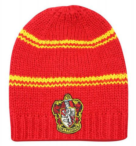 Harry Potter Slouchy Beanie Gryffindor Red