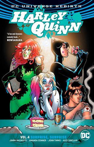Harley Quinn Rebirth Vol 4: Surprise, Surprise