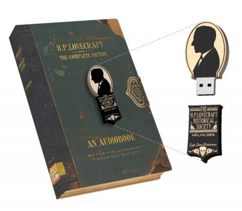 The Collected Fiction of H P Lovecraft - USB Audiobook