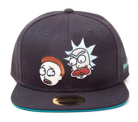 Rick & Morty Snapback Cap Big Faces
