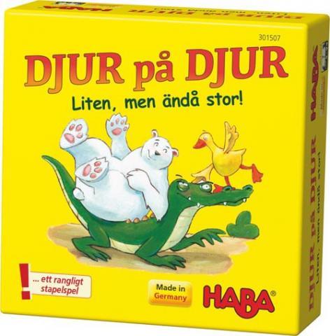 Djur på djur - Liten, men ändå stor! (svensk)