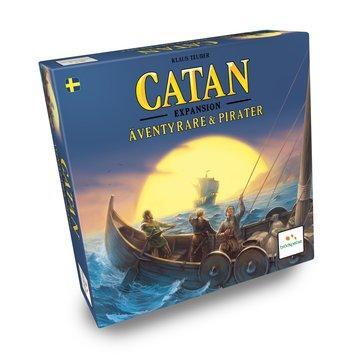 Catan - Äventyrare och Pirater (Skandinavisk utgåva)
