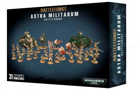 Battleforce: Astra Militarum Battlegroup