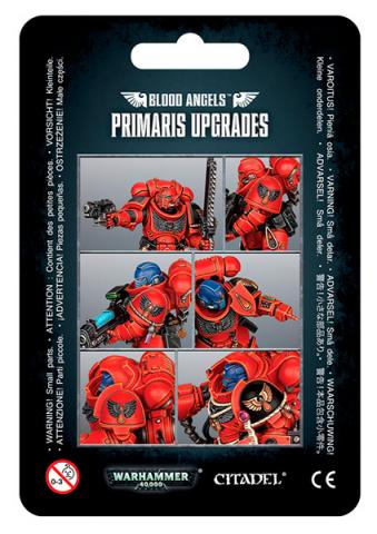 Blood Angels Primaris Upgrades