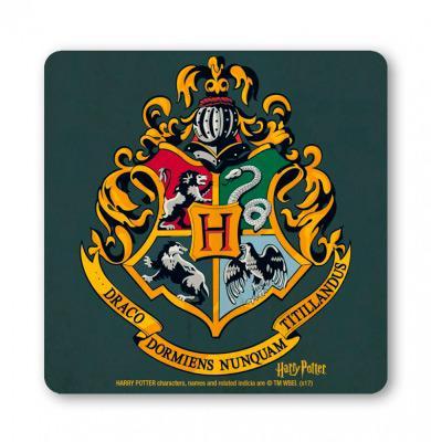Harry Potter Hogwarts Logo Vintage Coaster