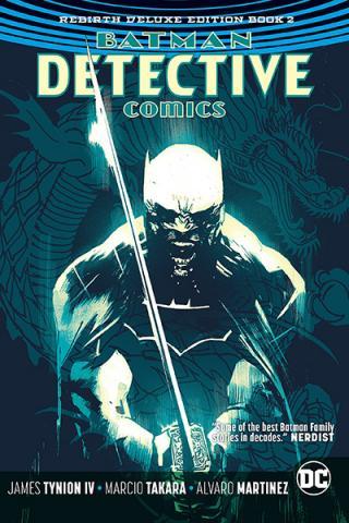 Batman Detective Comics Rebirth Deluxe Collection Book 2