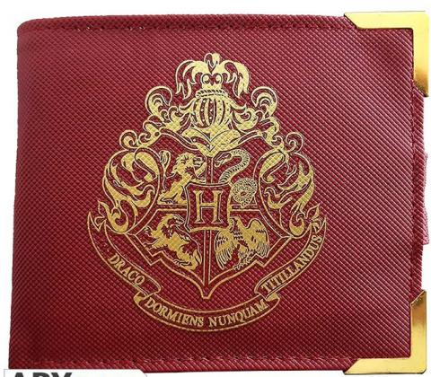 Harry Potter Premium Golden Hogwarts Wallet