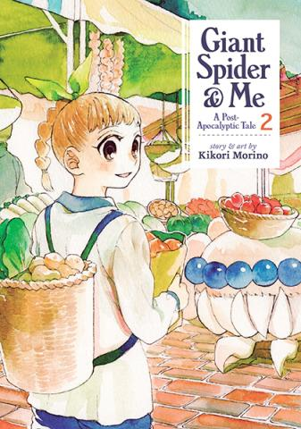 Giant Spider & Me: A Post-Apocalyptic Tale Vol 2
