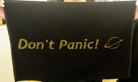 Handduk Don't Panic