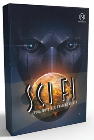 Presentask med fyra sci fi-noveller