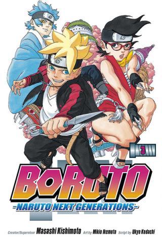 Boruto: Naruto Next Generations Vol 3