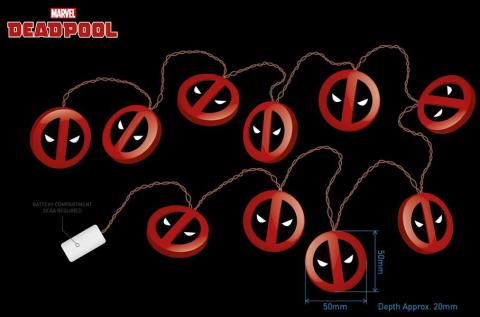 Deadpool 3D String Lights